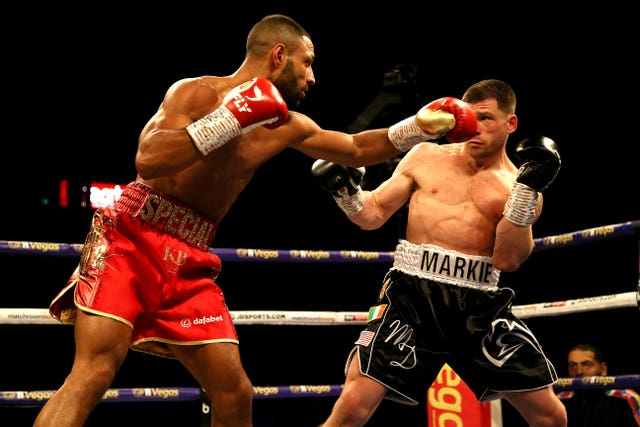 Brook was in fine form against DeLuca in Sheffield
