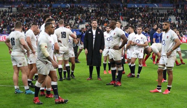 England left their comeback too late as Fabien Galthie's France, who led 17-0 at half-time, triumphed 24-17 in Paris