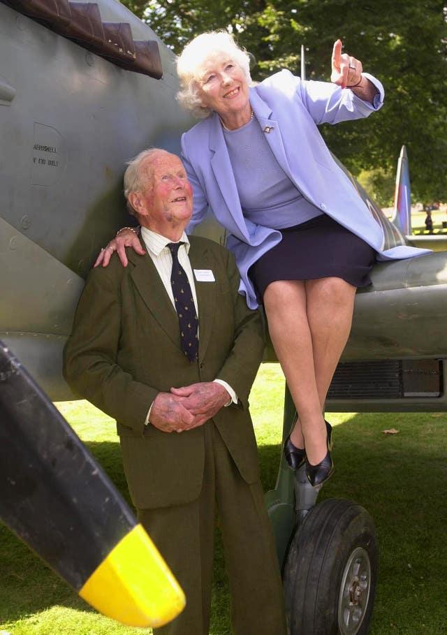 DAME VERA LYNN AT 90 Spitfire Vera Lynn