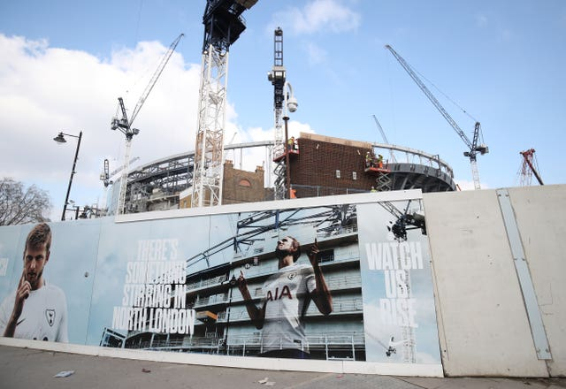 Tottenham Hotspur New Stadium Construction – London