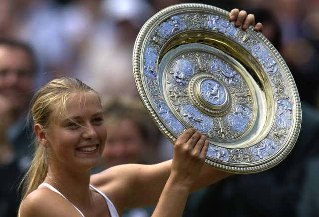 17-year-old Sharapova defeated Serena Williams in the 2004 Wimbledon final to catapult her into the tennis stardom