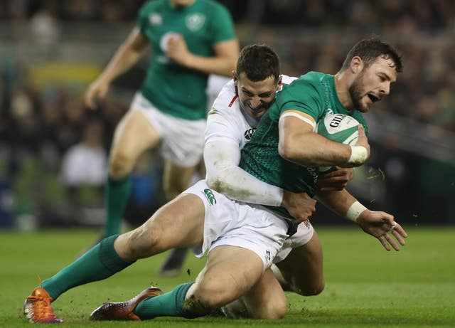 Ireland's Robbie Henshaw may move back into the centres after struggling against England