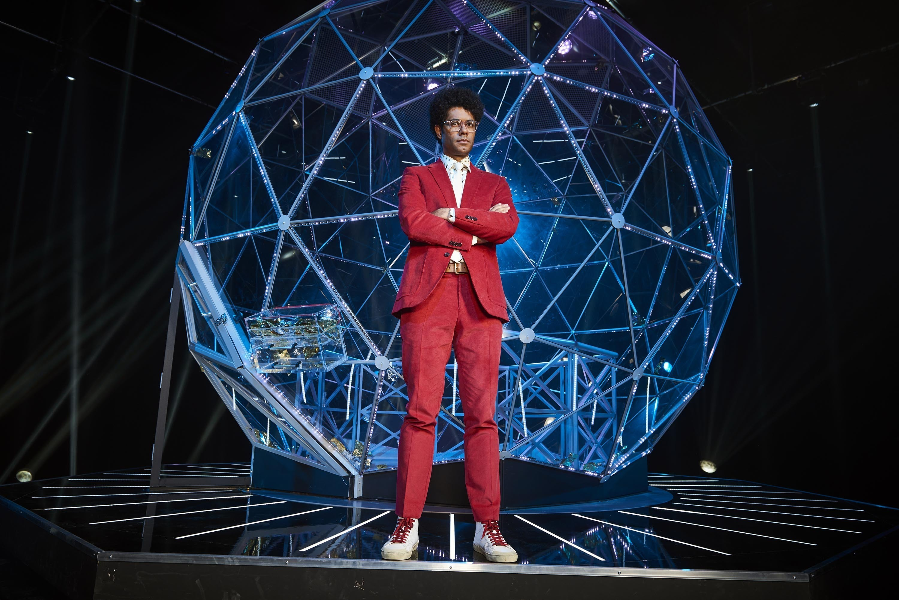 Start the fans please! Crystal Maze back on our screens tonight
