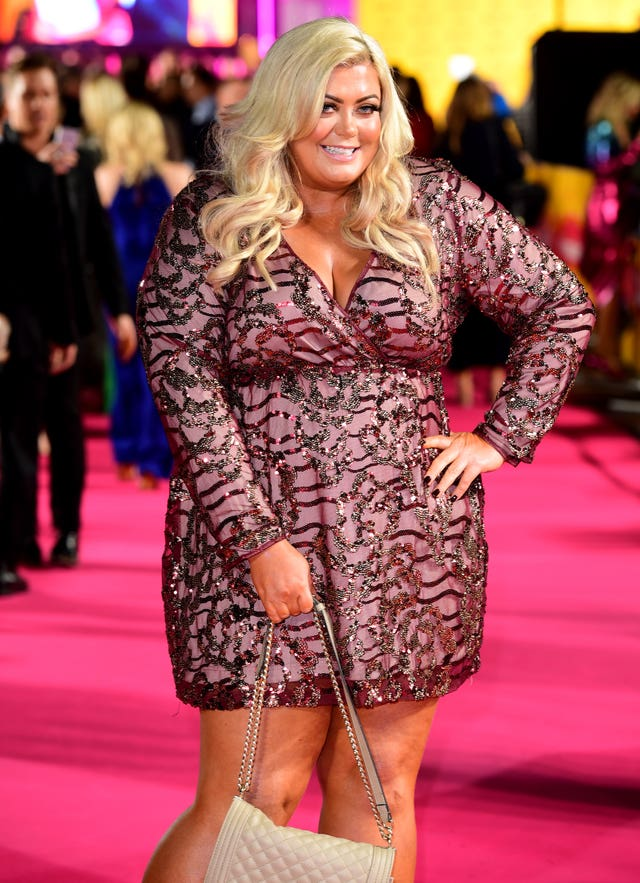 Gemma Collins  at an event