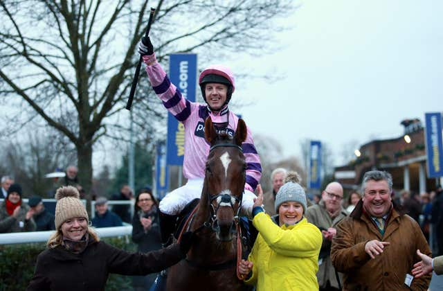 Fehily twice won the King George VI Chase on Silviniaco Conti