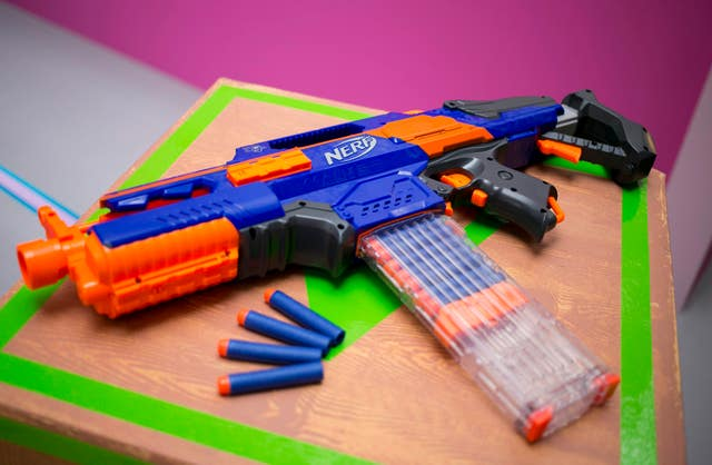 Image is loading UK-Hot-Nerf-Gun-N-Strike-DISRUPTOR-Indoor-