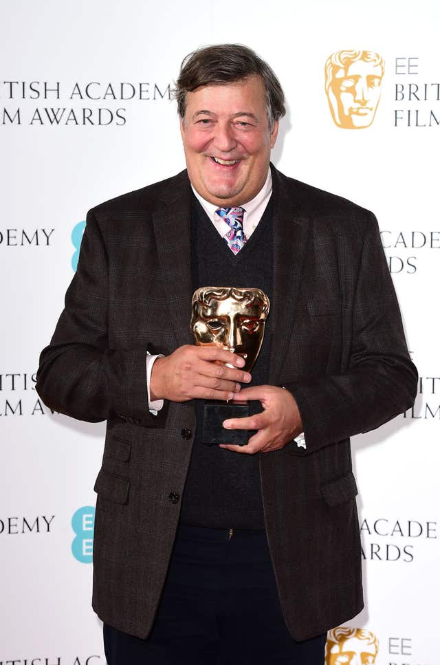 Stephen Fry (Ian West/PA)