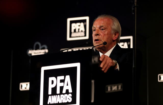 Gordon Taylor has said he will stand down once an independent review into the PFA is complete