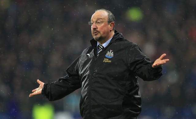 Rafael Benitez departed St James' Park last month