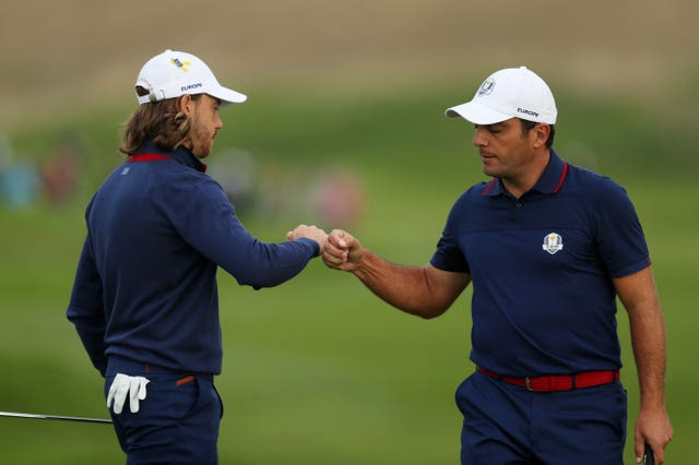 Molinari and Fleetwood struck up a brilliant partnership at last year's Ryder Cup