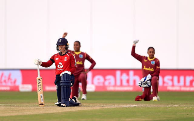 The women's series between England and the West Indies brought the practice back.