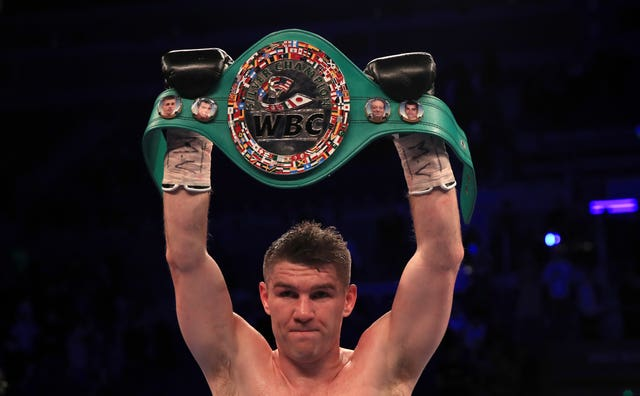 A domestic fight with Liam Smith, pictured, could be on the cards for Brook