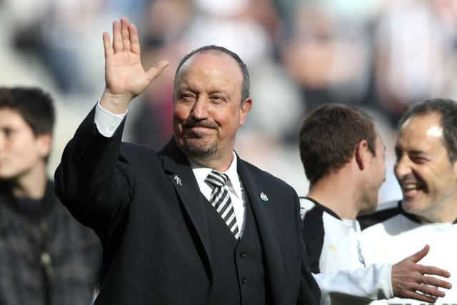 Could Rafael Benitez be waving goodbye to Newcastle?
