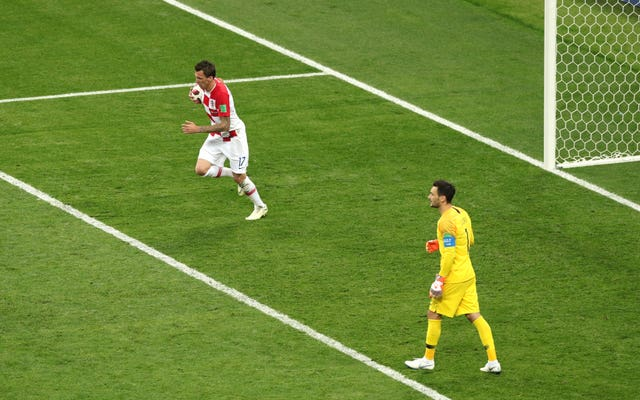 Mandzukic's goal in the World Cup final was his last before he announced his international retirement.