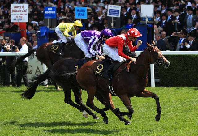 Le Brivido was a Royal Ascot winner for Andre Fabre