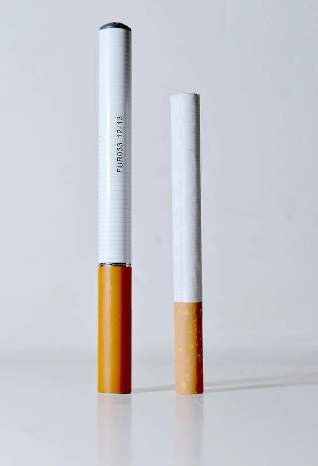 Adverts for e-cigarettes