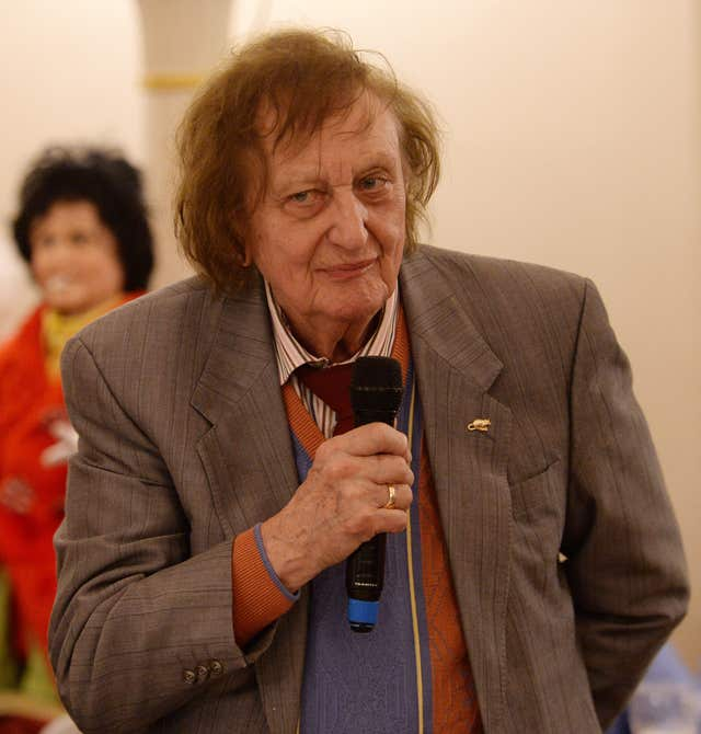 Sir Ken Dodd speaks during a tribute lunch
