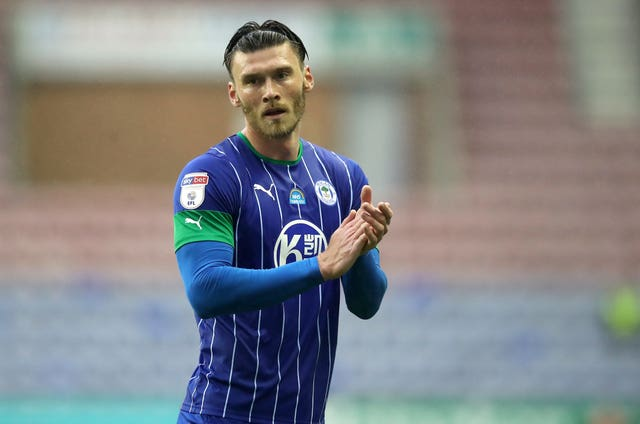 Kieffer Moore has left Wigan for Cardiff (