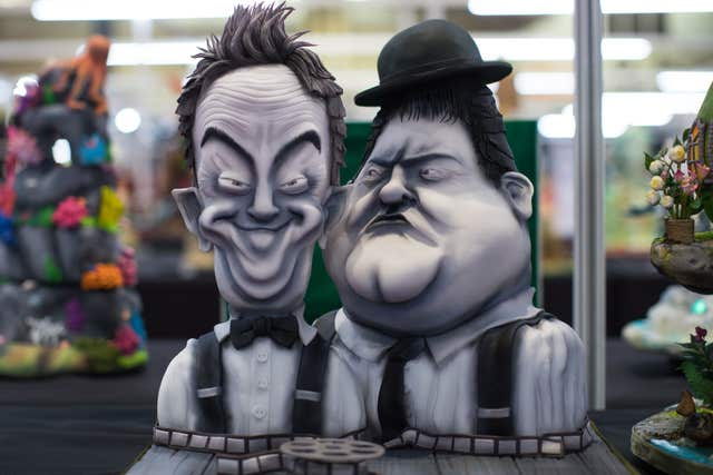 Laurel and Hardy cake