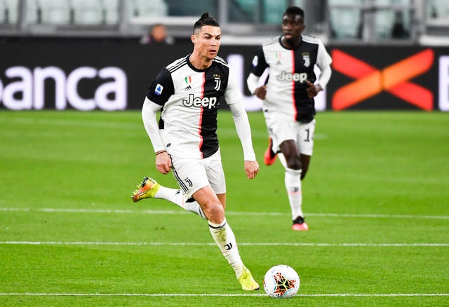 Juventus and their star player Cristiano Ronaldo will not be involved in Serie A action until April 3 at the earliest