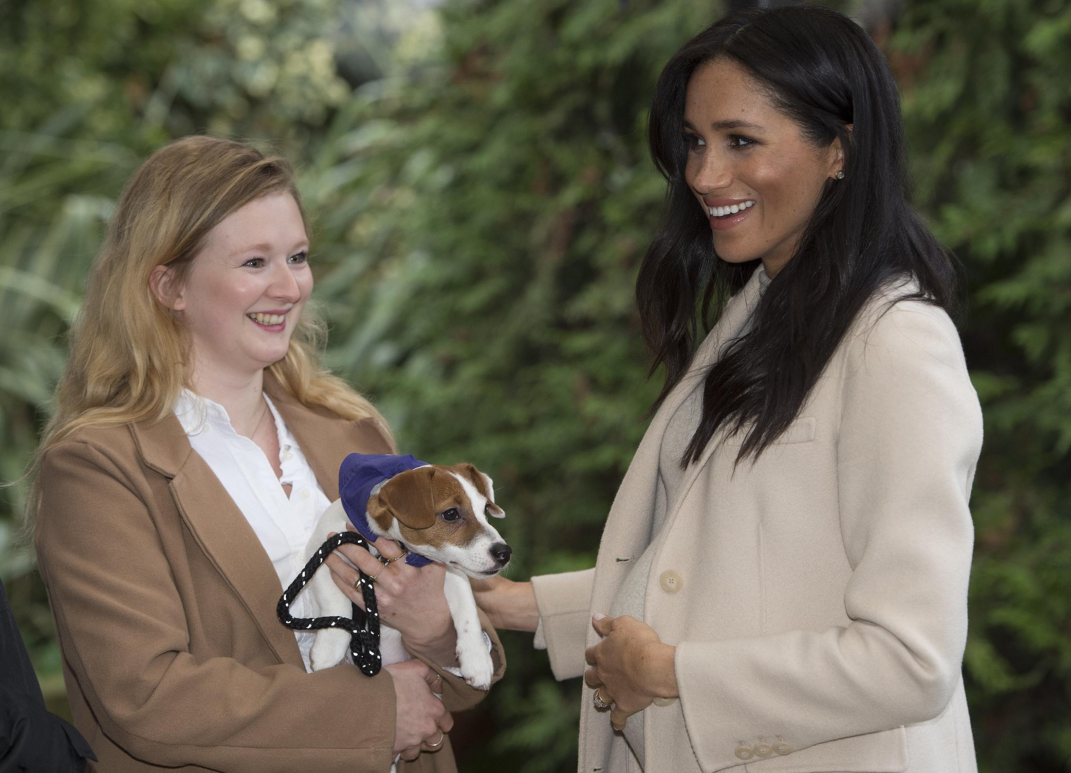 Royal visit to Mayhew charity