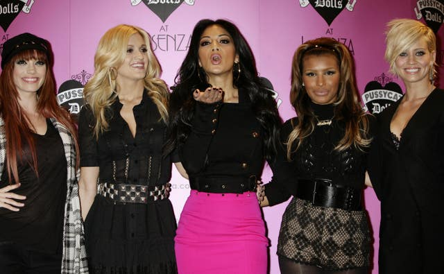 The Pussycat Dolls launch lingerie range – London