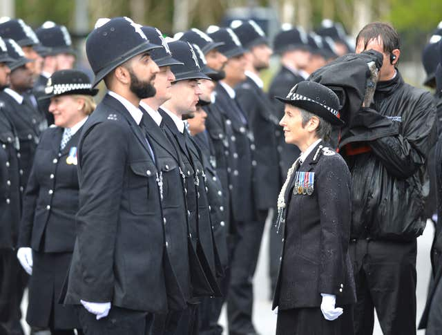 Scotland Yard passing out parade