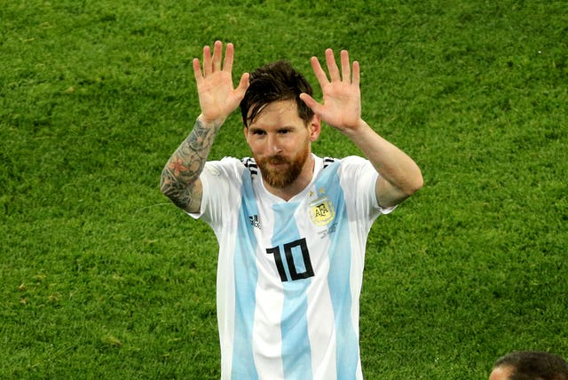 Lionel Messi struggled in Russia