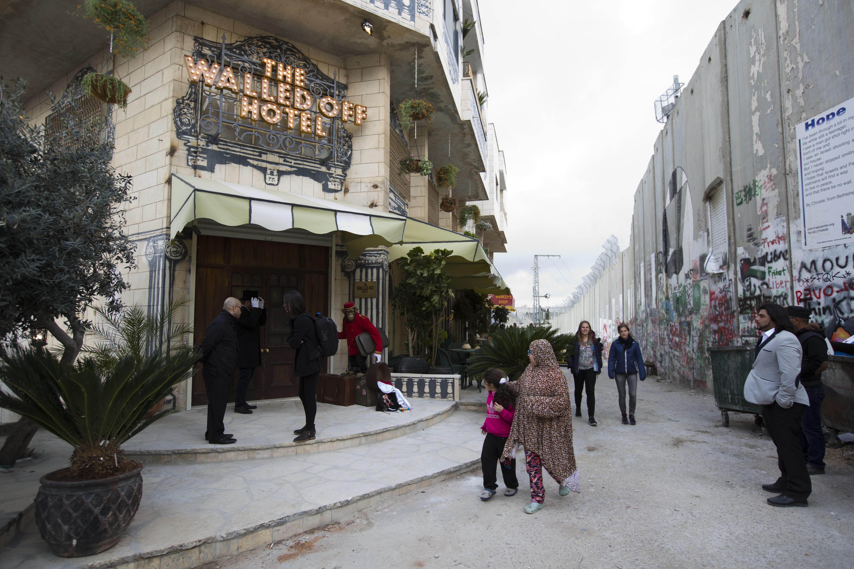Banksy's 'Scar of Bethlehem' Christmas stable art marks an Israeli-Palestinian struggle