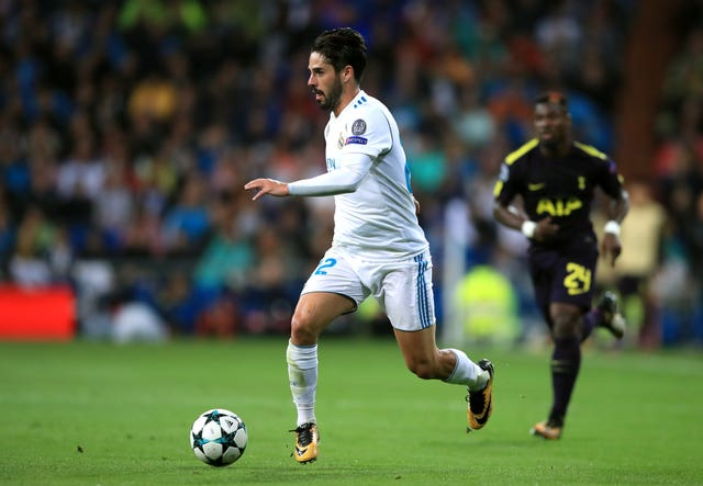 Isco remains a crucial player to Real Madrid, says head coach Zinedine Zidane (John Walton/EMPICS Sport)
