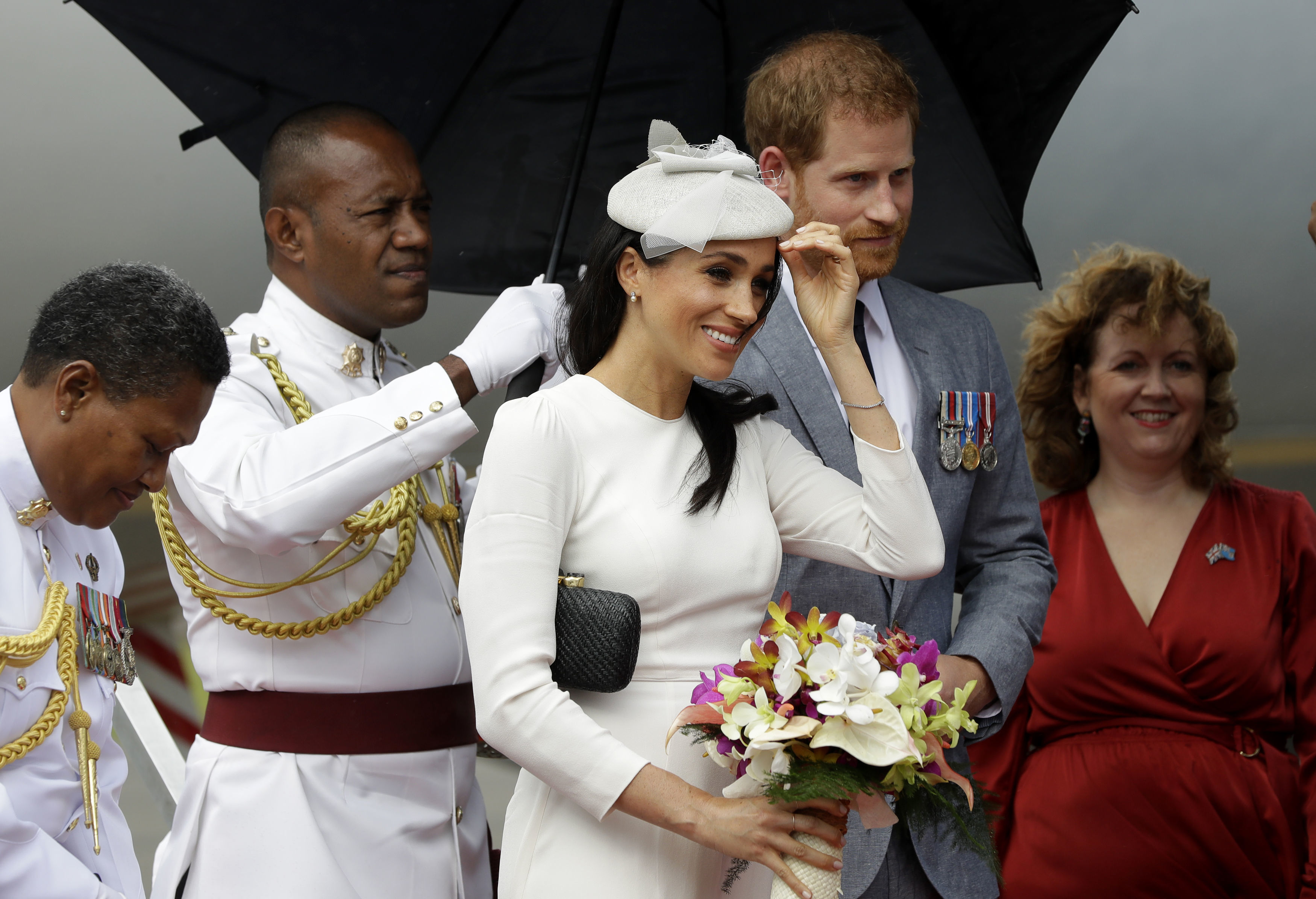 Royal tour of Fiji – Day One