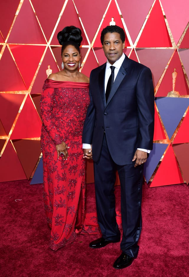 Denzel Washington and wife Pauletta