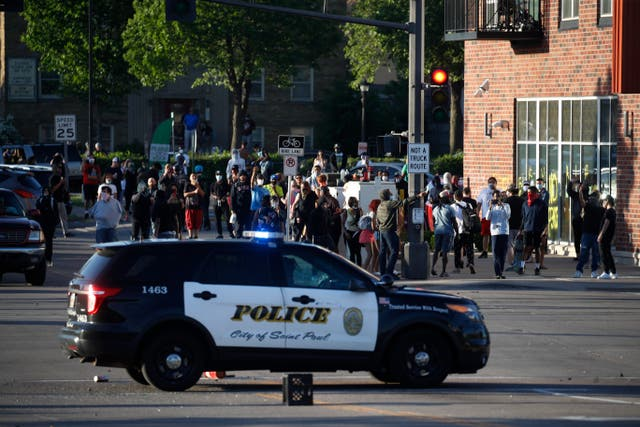Minneapolis brace for more violence after rebellion over the death of George Floyd, a handcuffed black man in police