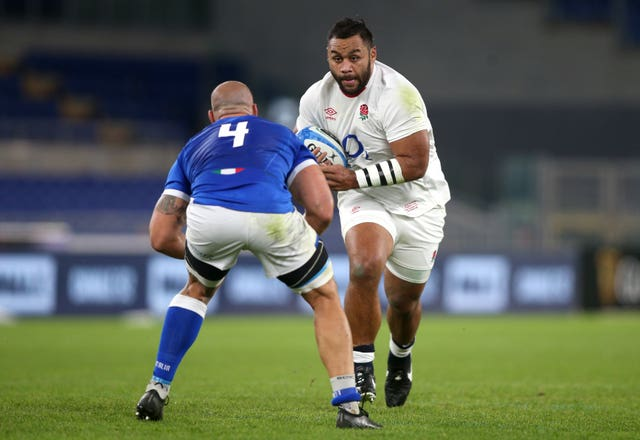 Billy Vunipola is one of England's most effective carriers