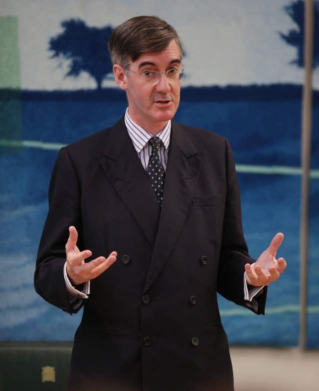 Jacob Rees-Mogg at Conservative Voice meeting