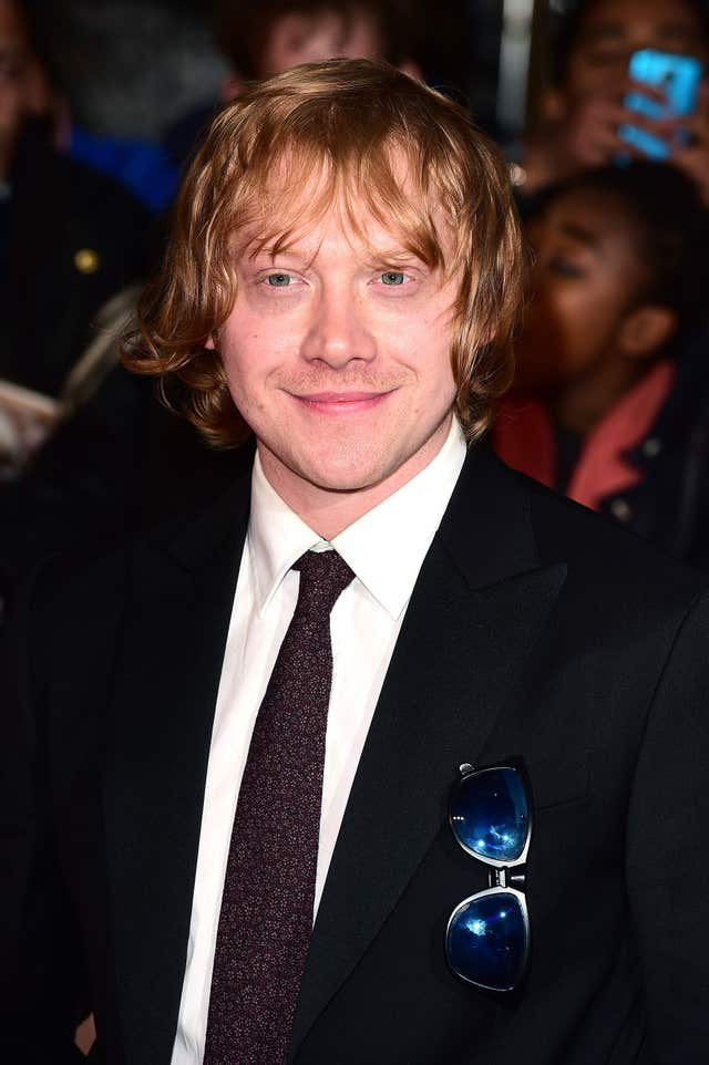 Rupert Grint will star in The ABC Murders (Ian West/PA)