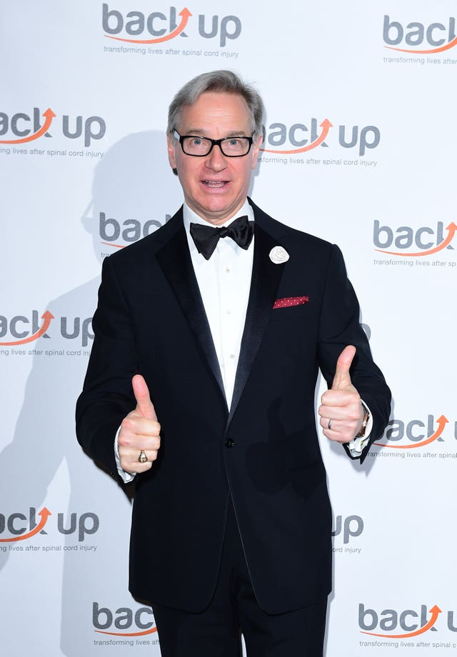 'Back Up Spinal Cord Injury' charity dinner – London