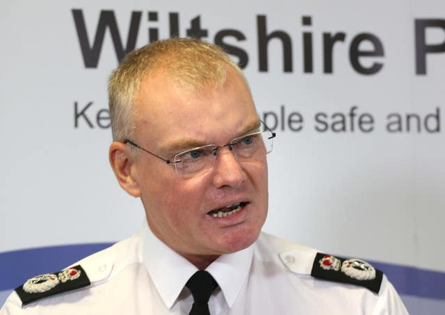 Chief constable Mike Veale
