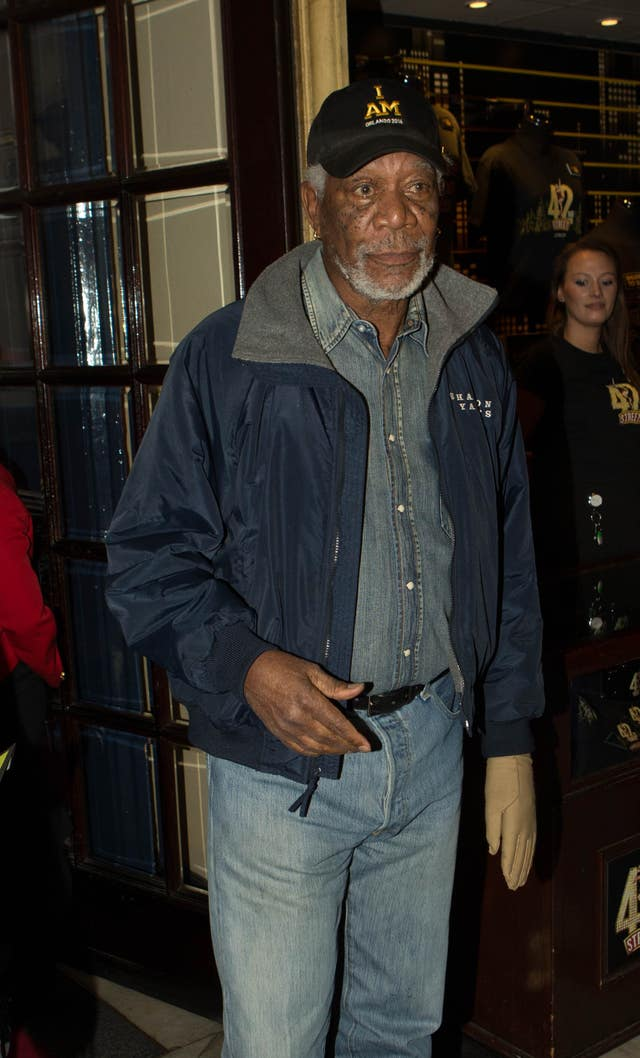 Morgan Freeman demanded CNN retract a report claiming he was guilty of sexual harassment in the workplace (Steve Parsons/PA)