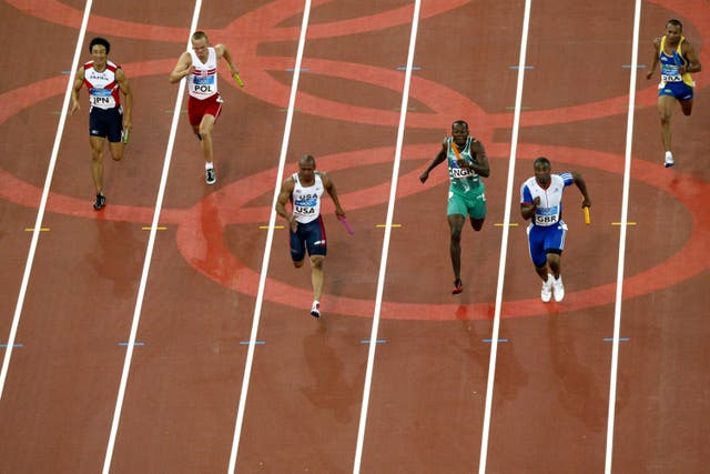 Athletics – Athens Olympic Games 2004 – Mens 4x100m Relay Final