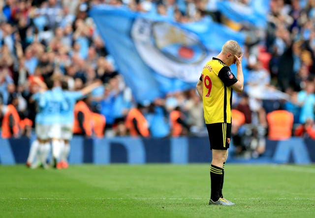 Manchester City thrashed Watford in last season's FA Cup final