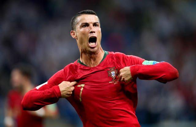 Cristiano Ronaldo is in ominous form at the World Cup