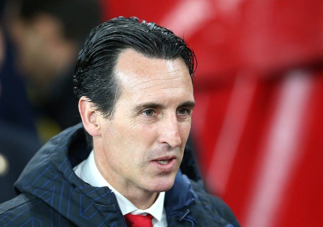 Defeat increased the pressure on Unai Emery