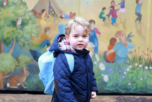Prince George to attend school