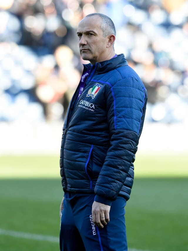 Italy boss Conor O'Shea was disappointed to see his side come up short