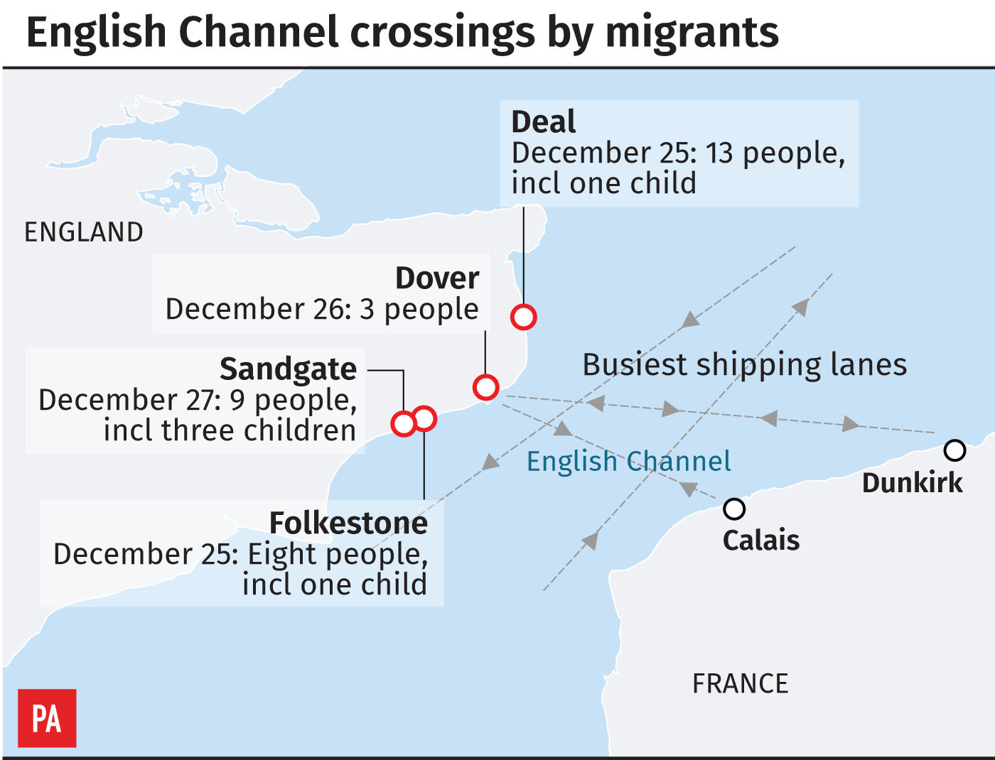 Channel migrants: US Minister defends handling of 'crisis'