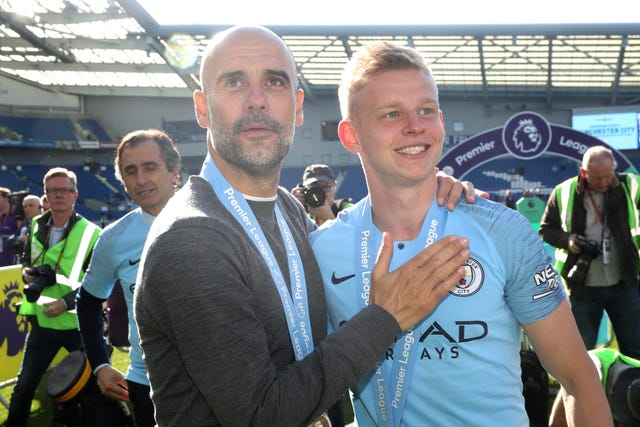 Oleksandr Zinchenko has established himself as Pep Guardiola's first-choice left-back