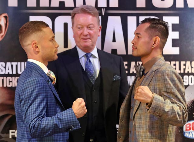 Carl Frampton v Nonito Donaire – Press Conference