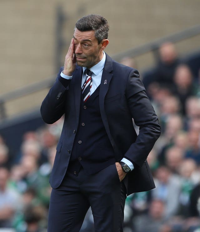 Steven Gerrard inherited a shambles from former Gers boss Pedro Caixinha, pictured