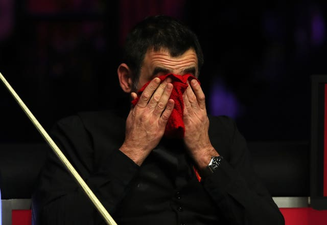 The UK Open venue was not to O'Sullivan's liking